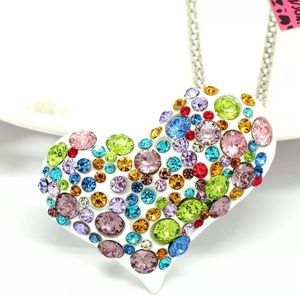 BETSEY JOHNSON~ HeART Necklace